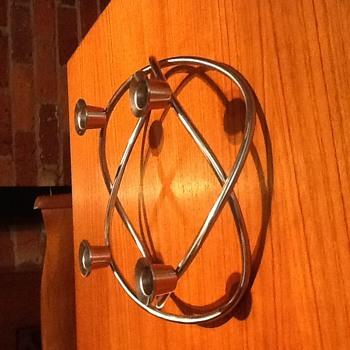 George Jensen candlestick holder  - Mid-Century Modern