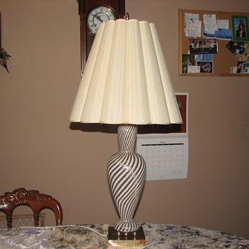 Murano Lamp - Art Glass