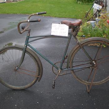 28'' Men's Wooden Rimmed Bicycle
