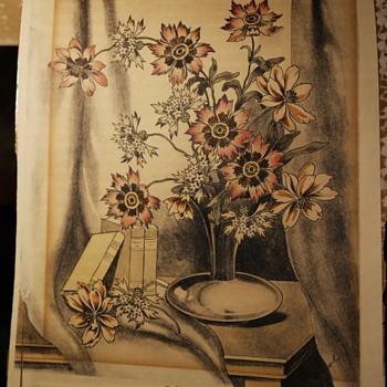 Cool Flowers - Fine Art