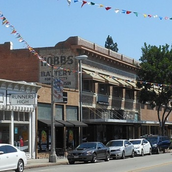Old Downtown Orange California - Photographs