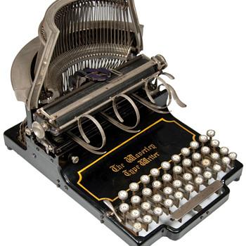 Waverley typewriter - 1895, London, England - Office