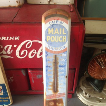 Another Mail Pouch Thermometer - Advertising