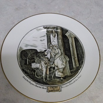 CRIES OF LONDON STORY PLATES - China and Dinnerware