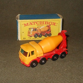 Mondo Monster Matchbox Monday MB-21 Foden Concrete Truck - Model Cars