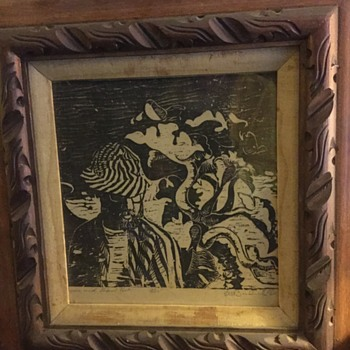 Unknown Print Art Signed