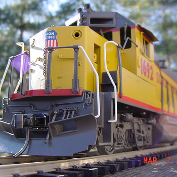 Model trains and my passion for brass.
