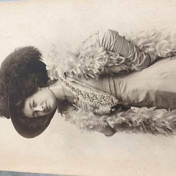 antique photo found an old photo box