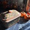 Unique colors and Rustic style ceramic box