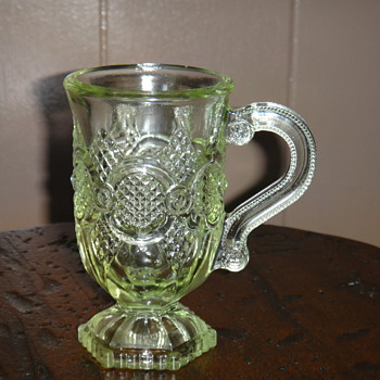Cape Cod Pattern but light green - Glassware