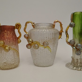 Loetz Ausführung 80, 81 and 88 - Art Glass