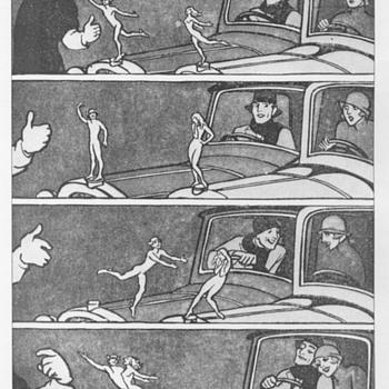A Mascot Romance By J.H. Dowd, c1932 - Classic Cars