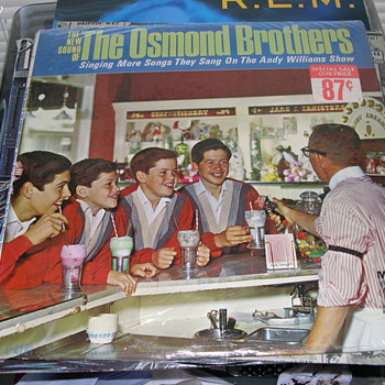 THE NEW SOUND OF THE OSMOND BROTHERS MGM RECORDS