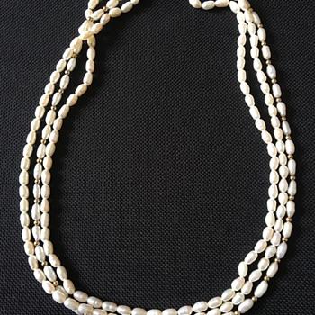 Vintage pearl necklace  - Fine Jewelry