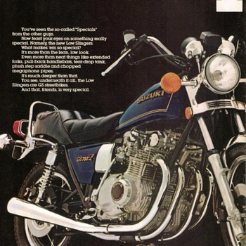 1979 - Suzuki Motorcycles Advertisement Pamphlet - Advertising