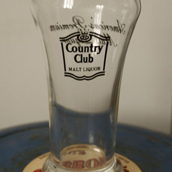 Country Club Malt Liquor Glass - Breweriana