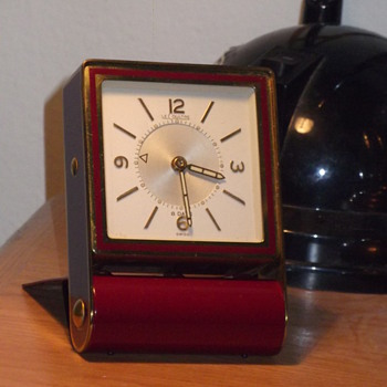 find of the month, LeCoultre travel alarm clock!! - Clocks