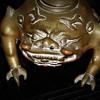 Asian Mythological Creature Bronze Incense Burner