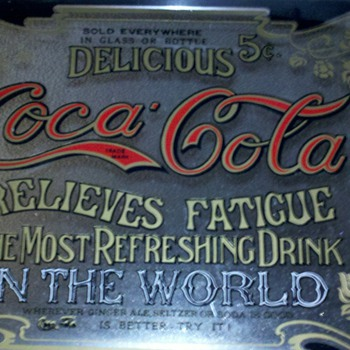 Coca-Cola mirror / Tray - Coca-Cola