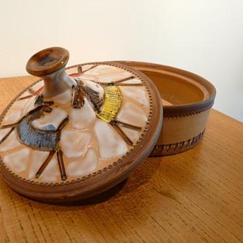 BOX & COVER FRATELLI FANCIULLACCI - Pottery