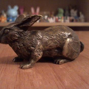 Bronce antique bunny - Animals