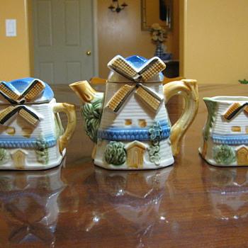 Windmill Tea Set - China and Dinnerware