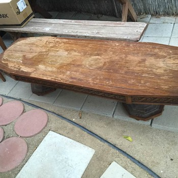 Vintage Lane MCM Coffee Table - Style No 1085 09