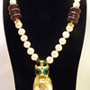 Vintage Donald Stannard Owl Pearl Necklace