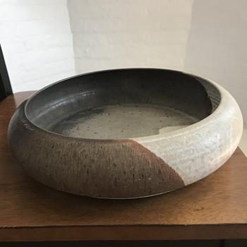 Stoneware large bowl - China and Dinnerware
