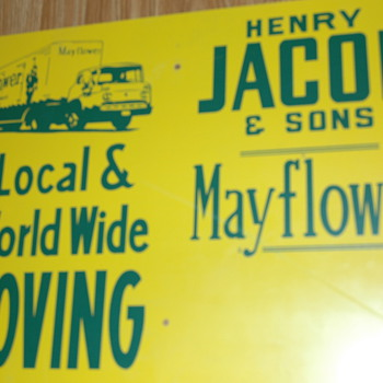 Vintage 18 x 24 inch Advertising sign - Advertising