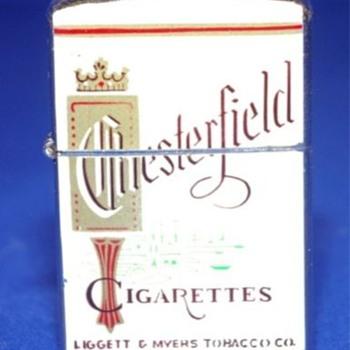 ~~Chesterfield Cigarrette Lighter~~ - Tobacciana