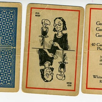 Vintage OLD MAID CARDS - Can someone tell age?