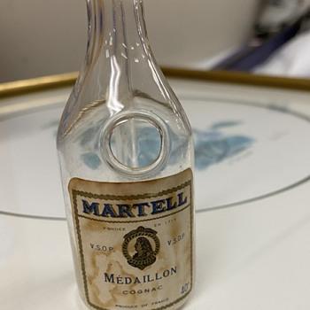 Martell Cognac Bottle  - Bottles