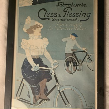 Vintage? Bicycle Poster from Germany - Posters and Prints