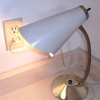 1950 0r 1960 table lamp.