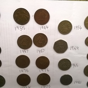 just some random coins