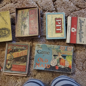 Some interesting finds in the barn - Games