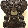 North Wind Fantasy Black Forest carved fantasy chair
