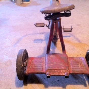 1960 Tricycle - Toys
