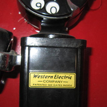 Western Electric Vintage Public Telephone - Telephones