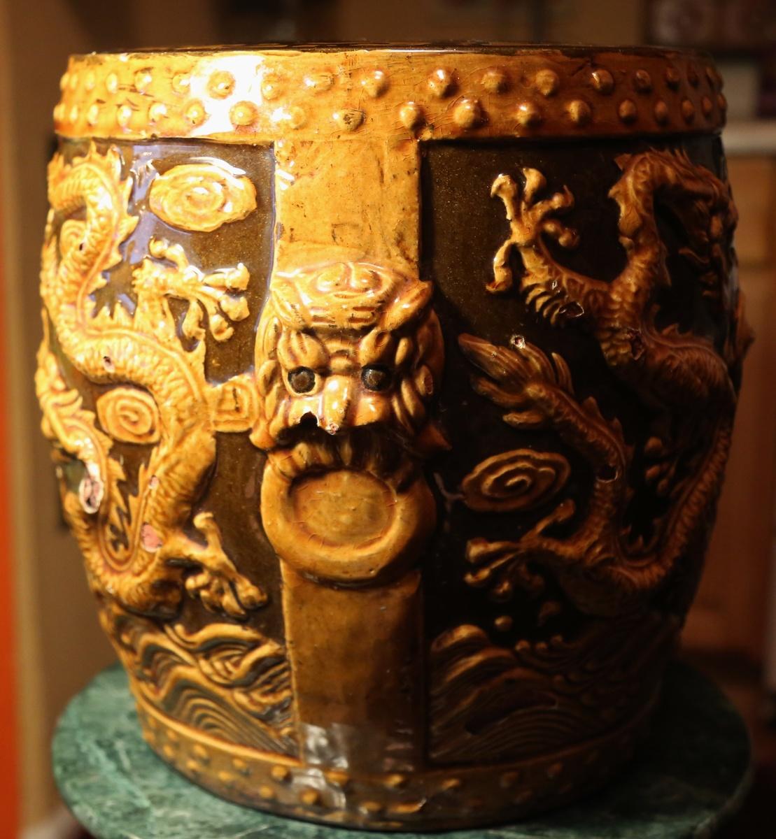 Ceramic Garden Stool - China | Collectors Weekly