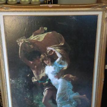 painting the storm pierre auguste cott 1890
