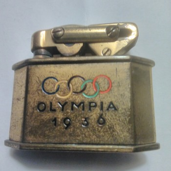 Solinger Olympic Lighter Berlin 1936 - Tobacciana
