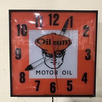 Oilzum clock  - Clocks