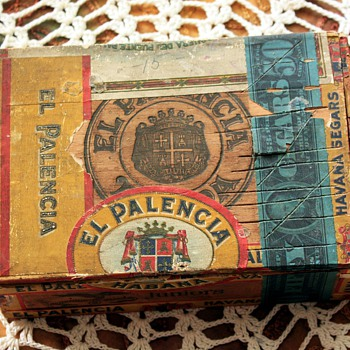 Old cigar box - Palencia - Tobacciana