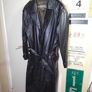 another WILSON'S black coat - Mens Clothing