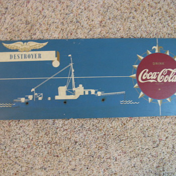 Warship Sign - Coca-Cola