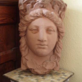 Terracotta Head - Maybe Neptune's Wife?  Help!