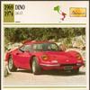 Vintage Car Card - Dino 246 GT