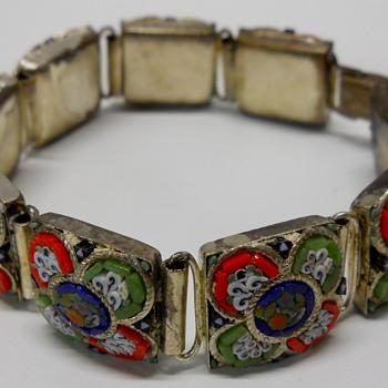 Italian Micro Mosaic Bracelet - Fine Jewelry